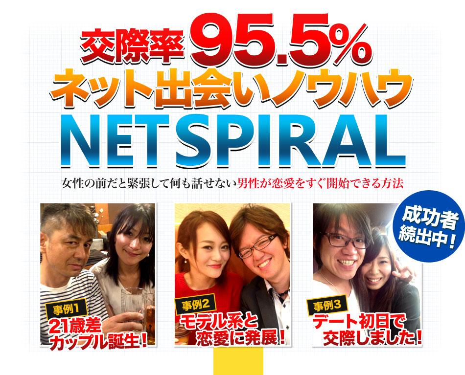 NET SPIRAL ※ネット出会いノウハウ ■先着200名 プロフィール制作無料プレゼント付き!